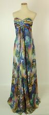 NEW $400 Jovani Multi Long Gown Evenig Prom Formal Size 2 Dress Cruise Floral