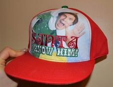 Elf Snapback SANTA I KNOW HIM One Size Fits Most Adults Officially Licensed