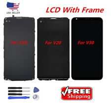 LCD Display Digitizer Screen +Frame For LG V10  V20  V30 H900 H910 H930 VS995 US