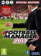 Football Manager 2017 Limited Edition (PC DVD) NEW & Sealed - UK Despatch