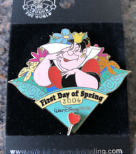 Disney - WDW Queen Of Hearts Alice Pin - First Day Of Spring 2004 - LE 2000