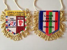 FANION 1/2 FINALE COUPE D'EUROPE 5 - 19 AVRIL 1995 // PARIS PSG - MILAN AC