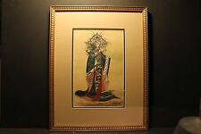Newton Smith, La Principessa Turandot, Watercolor/Gouache, 1970