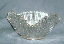 ANTIQUE AMERICAN BRILLIANT CUT GLASS TRIANGLE BOWL! 1880'S-EARLY 40'S
