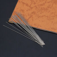 30Pc 0.6 x 120mm Beading Needles Threading String Cord Jewelry Craft Making Tool