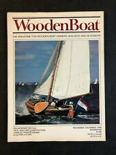 Wooden Boat Magazine November / December 1988 Number 85