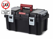 "Craftsman 16"" Portable Storage Tool Box Organizer With Tray Garage Case New"