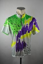 Gonso vintage Radtrikot cycling jersey maglia Rad Trikot 90er Gr. L BW 54cm Z08