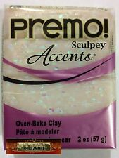 M00355 MOREZMORE Premo Accents Sculpey OPAL 5109 2oz Polymer Clay
