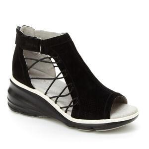 Womens Jambu Naomi Platform Adjustable Comfort Wedges NEW