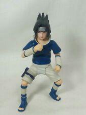 NARUTO Shonen Jump's SASUKE UCHIHA Fireball Jutsu Collectible Figure Mattel 2006