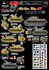 Star Decals 1/35  German Afrika Mix #7 Panzer II Ausf F Sd.Kfz.121 decal 35839 x
