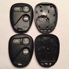 2 New Replacement 3 Button Remote Shell Cases + Pads ABO1502T 16245100-29
