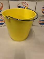 More details for fryersmate chip bucket similar to rocar bucket yellow hd food grade not drywite