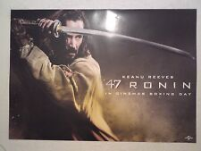47 RONIN POSTER Movie Cinema Film NEW A3 Unfolded KEANU REEVES Matrix Marvel DC