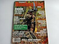 Sportsman's Bowhunting Annual Magazine 1995 Volume 13 Number 1