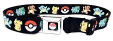 "Buckle Down Seatbelt Pokémon Belt 28""-44"""