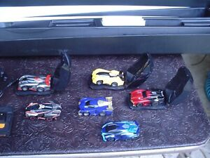 """Anki Drive """"The Battle Begins"""" Used Starter Set w 6 Cars, Charger, Mat"""