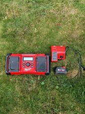 Milwaukee M18JSRDAB+ 18v AC Power Job Site Radio DAB - Inc. 5.0Ah Bat