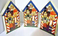 Lot (3) NUTCRACKER CHRISTMAS GIFT BOX es Decoration Fill with Goodies & Display