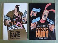 Paul Grist Kane Rabbit Hunt 2 TPB Image 1st print + Dancing Elephant 2nd print