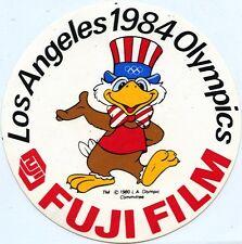 ADESIVO VINTAGE/STICKER * FUJI FILM LOS ANGELES 1984 OLYMPICS *