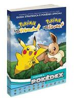 Pokemon Let's Go Pikachu & Eeve Conduite Stratégiques Et Pokedex Officiel