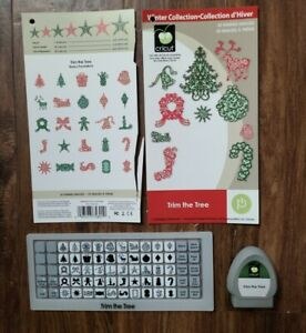 Crircut Limited Edition Winter Collection Trim the Tree Cartridge