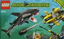 Lego Aquazone Aquaraiders ll 7773 Tigar Shark Attack New Sealed