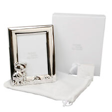 Baby Christening Gift Twinkle Twinkle Silver Portrait Teddy Photo Picture Frame