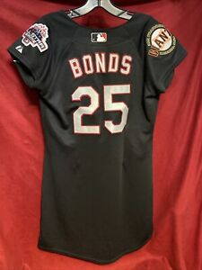 San Francisco BARRY BONDS Vintage 2003 ALL STAR Women's Jersey Small NWT