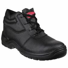 Boots UNISEX BLACK SAFETY BOOTS FS330 3-15