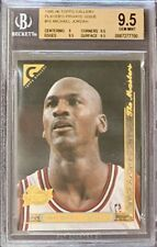 1995-96 Topps Gallery Player's Private Issue Michael Jordan BGS 9.5 GEM MINT