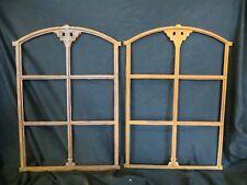Neu! Schönes verziertes Gussfenster mit  Bogen Stallfenster 74 x 50cm an der A31