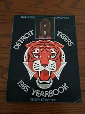 1985 DETROIT TIGERS Yearbook World Champions 1984 Trammell Whitaker Sparky