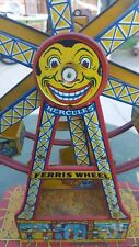 Vintage, Tin Hercules Ferris Wheel toy
