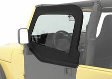 Bestop HighRock Element Upper Doors 76-95 Jeep CJ7 & Wrangler YJ Black Denim