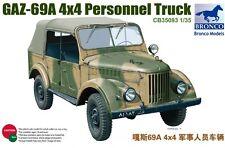 Bronco 1/35 CB35093 GAZ-69A 4WD Car