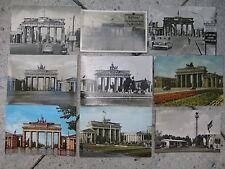 9 x Berliner Mauer Brandenburger Tor extrem selten: vor 1961 und aus Ostberlin!