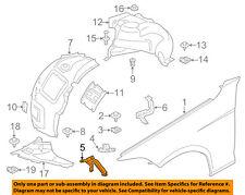 BMW OEM 12-16 328i-Fender Front Bracket Left 41357298037