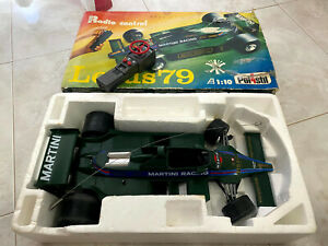LOTUS 79 Polistil RC 1:10 radiocotrol 1980 Martini racing rara Car Lotus