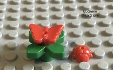 LEGO Flower Plant Garden Friends Belville with Red Butterfly