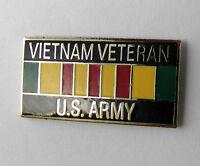 US ARMY VIETNAM VETERAN VET LAPEL HAT PIN BADGE 1 INCH