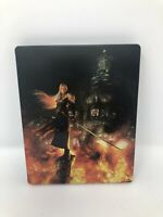 Final Fantasy 7 VII Remake PS4 Steelbook Only No Game sephiroth
