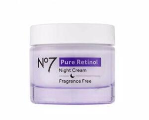 No7 Pure Retinol NIGHT Repair Cream with Collagen Peptide Technology 50ml