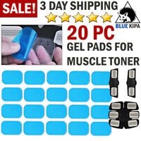 Replacement GEL PADS for Muscle Toner Electric Tens Unit Machine Abs Toning Belt