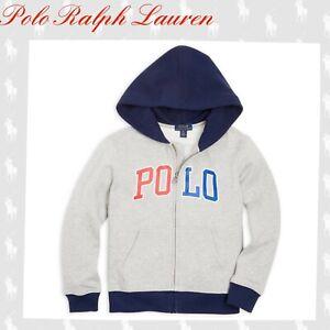 Polo Ralph Lauren Boy's Logo Zip Hoodie Size 6