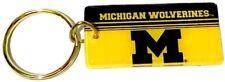 University of Michigan (U of M) Wolverines Crystal View Keychain - alt style