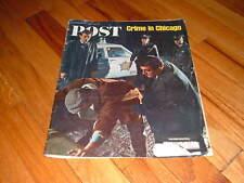 SATURDAY EVENING POST Magazine 4/22/1967 CRIME CHICAGO Vietnam EXPO 67 Redwood