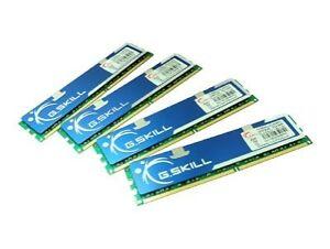 G.Skill PC2-6400 2 GB DIMM 800 MHz DDR2 SDRAM Memory (F2-6400CL5Q-8GBPQ)